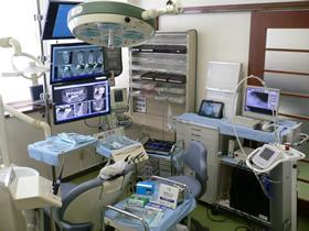 (写真)インプラント専用の手術室